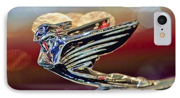 1938 Cadillac V-16 Sedan Hood Ornament Phone Case by Jill Reger