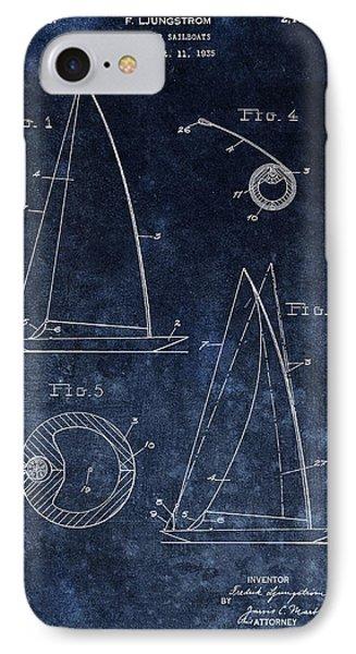 1938 Sailboat Rig IPhone Case