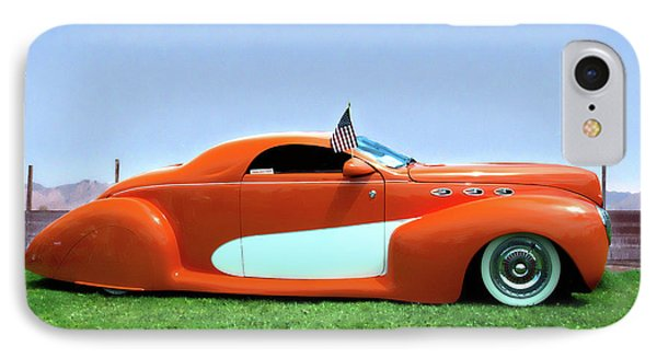 1939 Lincoln Zephyr Coupe IPhone Case