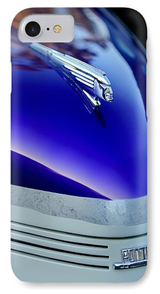 1939 Pontiac Coupe Hood Ornament 3 Phone Case by Jill Reger