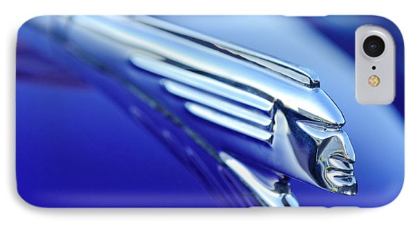 1939 Pontiac Coupe Hood Ornament 4 Phone Case by Jill Reger