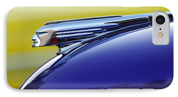 1939 Pontiac Coupe Hood Ornament Phone Case by Jill Reger