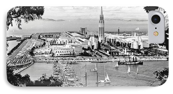 1939 Treasure Island View IPhone Case by Underwood Archives