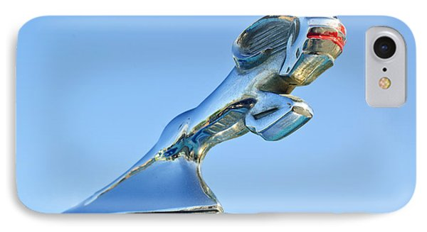 1940 Dodge Business Coupe Hood Ornament Phone Case by Jill Reger