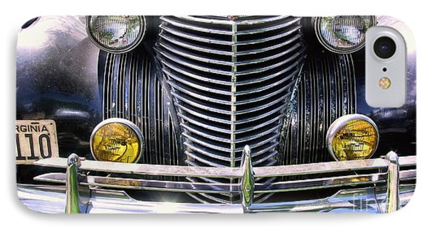 1940s Caddie Full Frontal Oh La La IPhone Case by John S