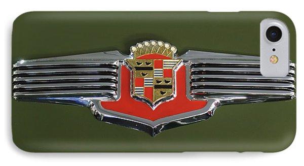 1941 Cadillac 62 Emblem Phone Case by Jill Reger