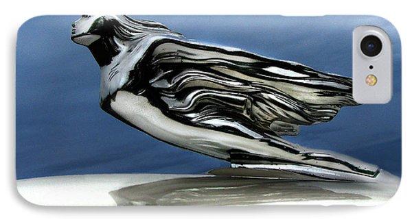 1941 Cadillac Emblem Abstract Phone Case by Peter Piatt