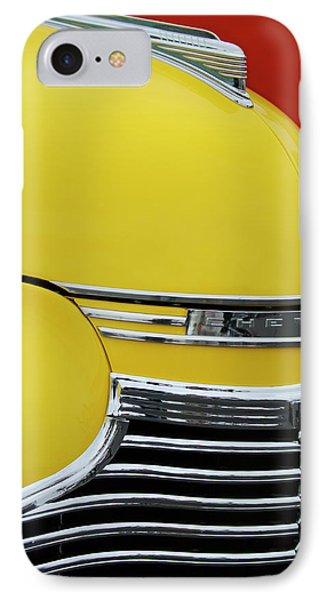 1941 Chevrolet Sedan Hood Ornament 2 Phone Case by Jill Reger