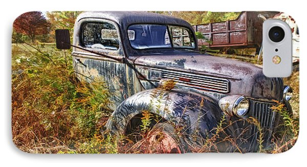 1941 Ford Truck IPhone Case by Mark Allen