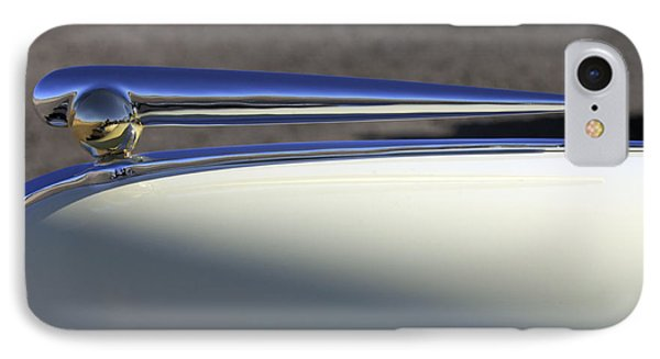 1941 Lincoln Continental Cabriolet V12 Hood Ornament Phone Case by Jill Reger