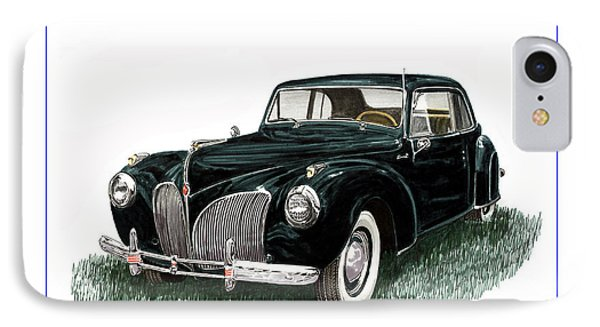 1941 Lincoln Continental Mk 1 Phone Case by Jack Pumphrey