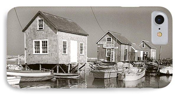 1941 Lobster Shacks, Martha's Vineyard IPhone Case by Historic Image
