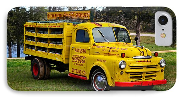 1942 Dodge Delivery Truck 001 IPhone Case by George Bostian