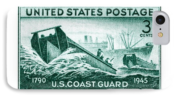 1945 Coast Guard Issue Stamp IPhone Case
