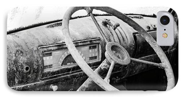 1946 Chevy Work Truck Dashboard IPhone Case by Jon Woodhams