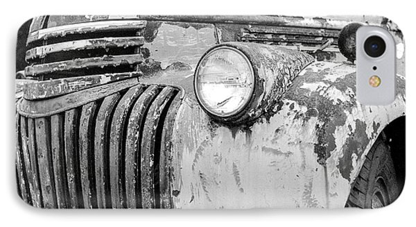 1946 Chevy Work Truck Fender And Grill IPhone Case by Jon Woodhams
