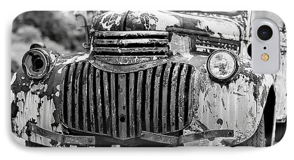 1946 Chevy Work Truck Front IPhone Case by Jon Woodhams