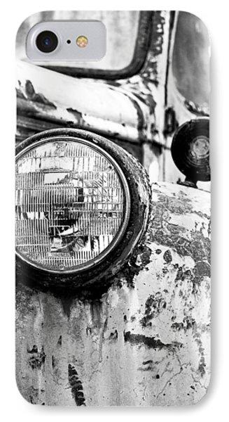 1946 Chevy Work Truck - Headlight Detail IPhone Case by Jon Woodhams