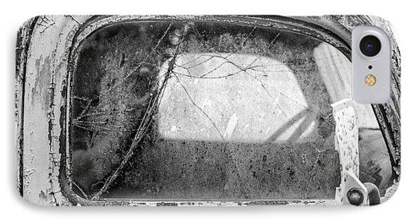 1946 Chevy Work Truck Passenger Window IPhone Case by Jon Woodhams