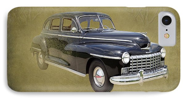 1946 Dodge D24c Sedan IPhone Case