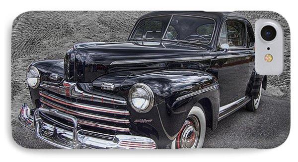 1946 Ford Phone Case by Debra and Dave Vanderlaan