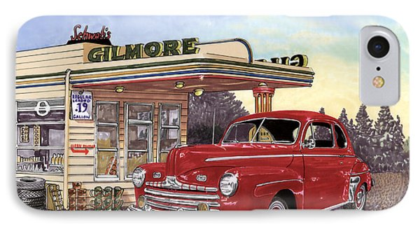 1946 Ford Deluxe Coupe Phone Case by Jack Pumphrey