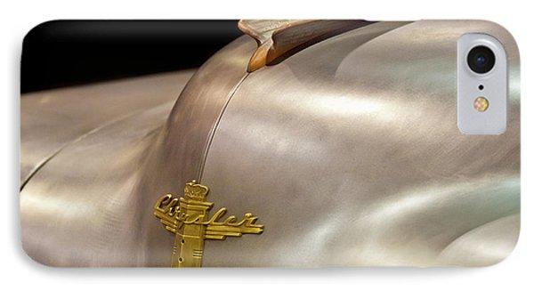 1947 Chrysler Hood Ornament Phone Case by Jill Reger