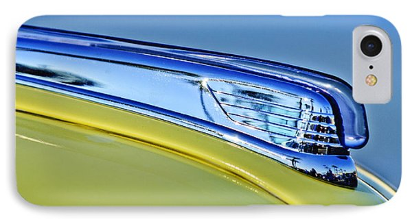 1947 Ford Super Deluxe Hood Ornament 2 Phone Case by Jill Reger