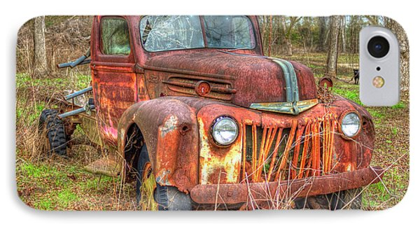 1947 Ford Truck And Friend IPhone Case