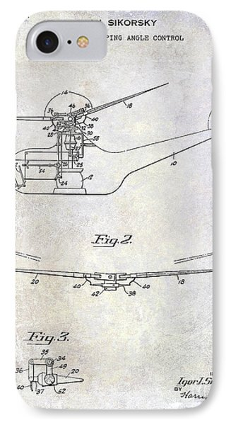 1947 Helicopter Patent IPhone 7 Case