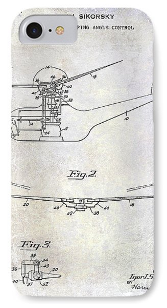 1947 Helicopter Patent IPhone Case