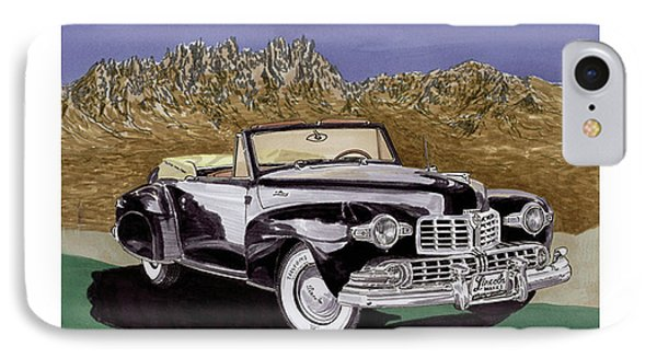 1947 Lincoln Continental Mk I Phone Case by Jack Pumphrey