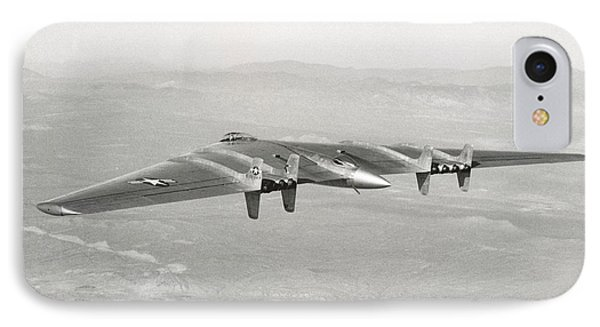 IPhone Case featuring the photograph 1947 Northrop Flying Wing by Historic Image