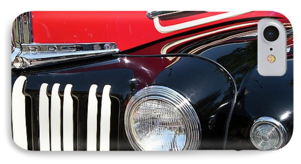 IPhone Case featuring the photograph 1947 Vintage Ford Pickup Truck by Theresa Tahara