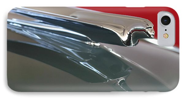 1948 Cadillac Series 62 Hood Ornament Phone Case by Jill Reger