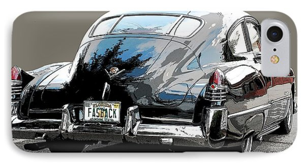 1948 Fastback Cadillac IPhone Case by Robert Meanor