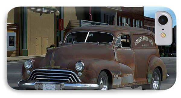 IPhone Case featuring the photograph 1948 Oldsmobile Sedan Delivery by Tim McCullough
