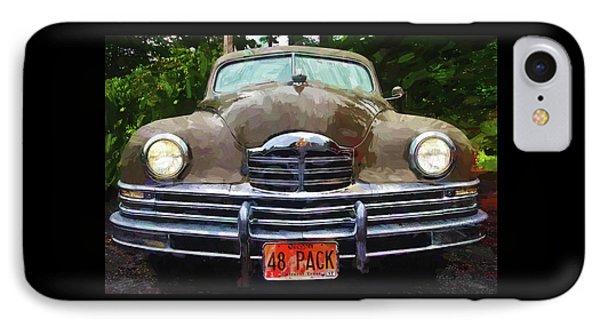 1948 Packard Super 8 Touring Sedan IPhone Case by Thom Zehrfeld
