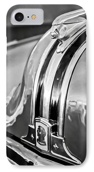 1948 Pontiac Chief Hood Ornament 4 Phone Case by Jill Reger