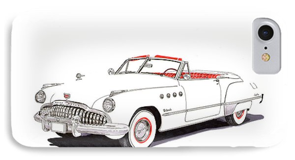 1949 Buick Roadmaster Convertible IPhone Case by Jack Pumphrey