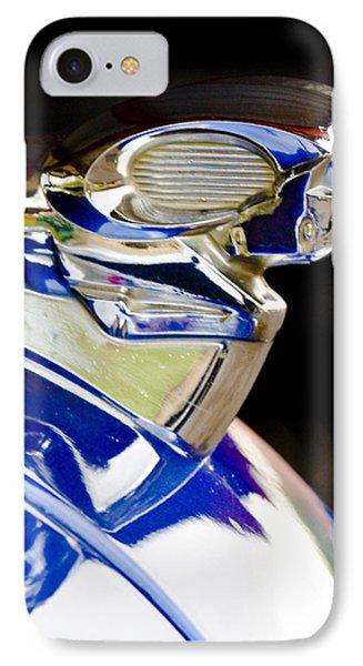 1949 Dodge Pickup Hood Ornament Phone Case by Jill Reger