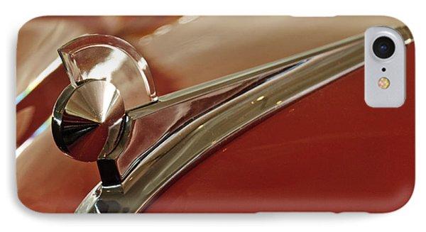 1949 Ford Custom Hood Ornament Phone Case by Jill Reger