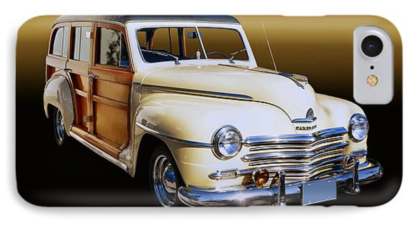 1949 Plymouth Woodie Wagon IPhone Case
