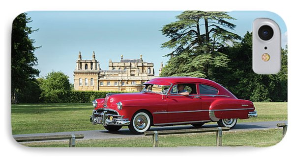 IPhone Case featuring the photograph 1949 Pontiac At Blenheim Palace by Tim Gainey