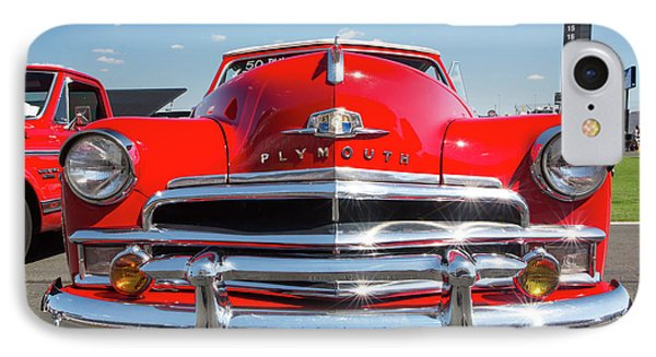 1950 Plymouth Automobile IPhone Case