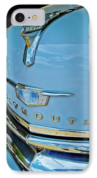 IPhone Case featuring the photograph 1950 Plymouth Coupe by Linda Unger
