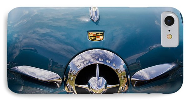 1950 Studebaker IPhone Case by Roger Mullenhour