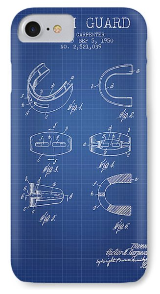 1950 Tooth Guard Patent Spbx16_bp IPhone Case by Aged Pixel