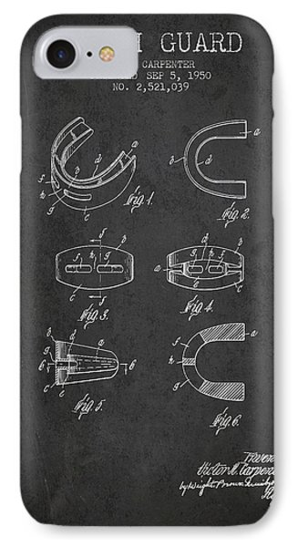 1950 Tooth Guard Patent Spbx16_cg IPhone Case by Aged Pixel