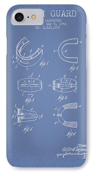 1950 Tooth Guard Patent Spbx16_lb IPhone Case by Aged Pixel